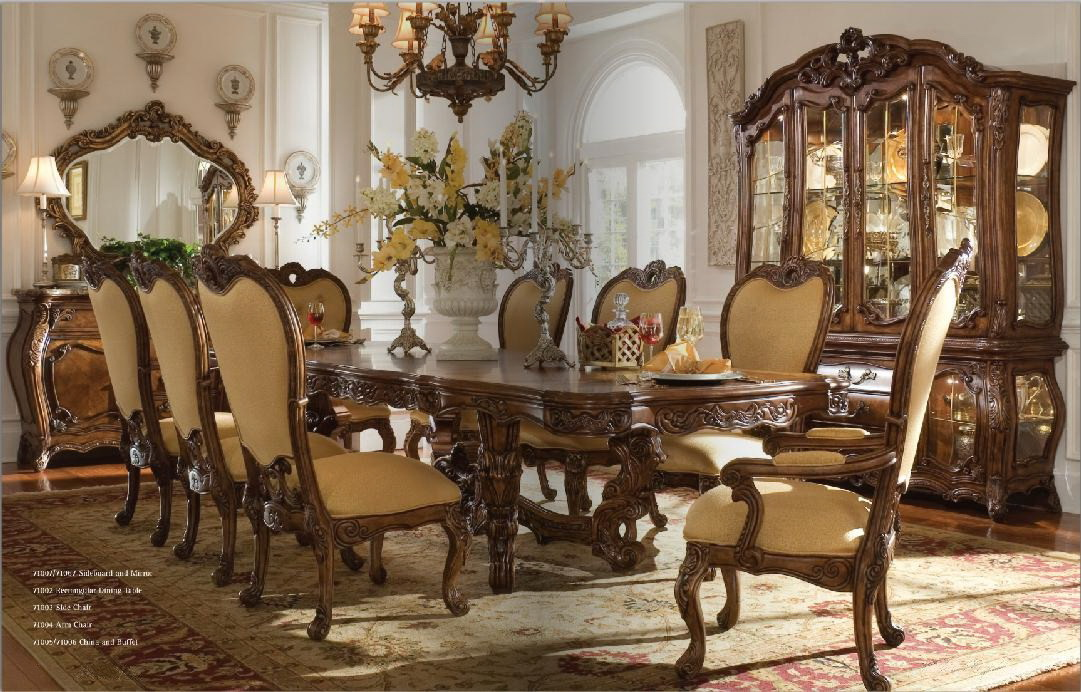 Visually stunning fine furniture for Fine dining room furniture